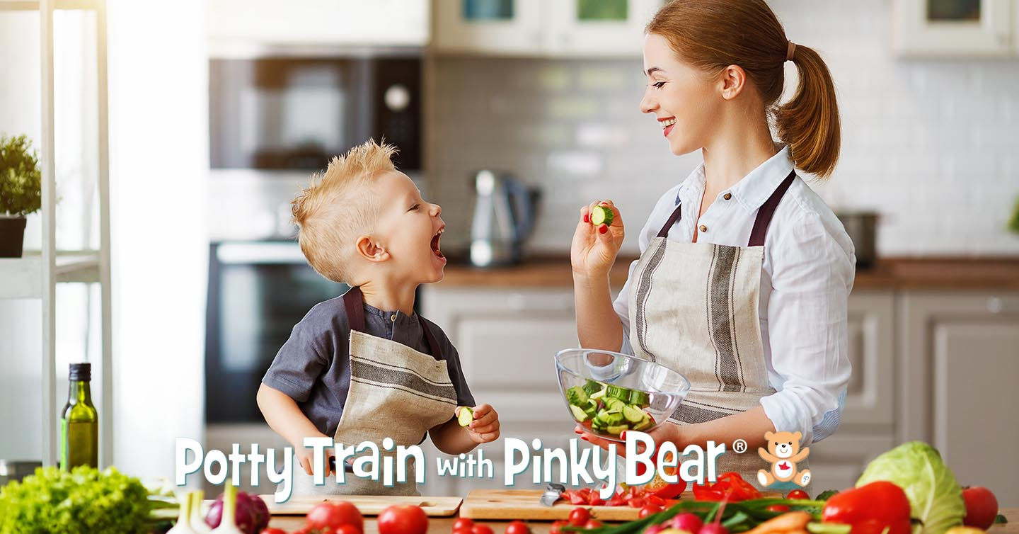 Teaching child to develop a love for nutritious whole foods