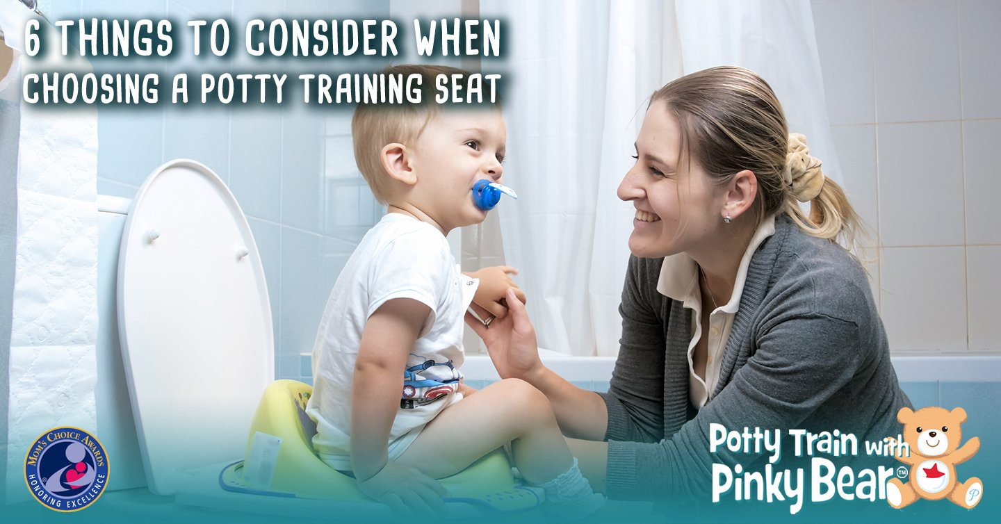 Things to Consider When Choosing a Potty Training Seat