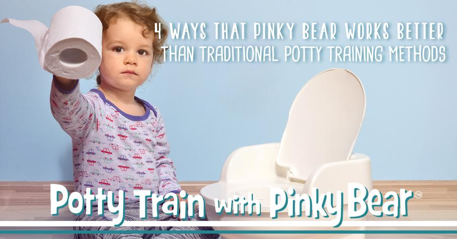 4 Ways Pinky Bear Works Better Than Traditional Potty Training Methods