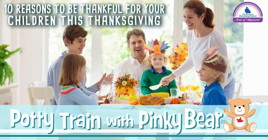 Reasons to Be Thankful for Your Children