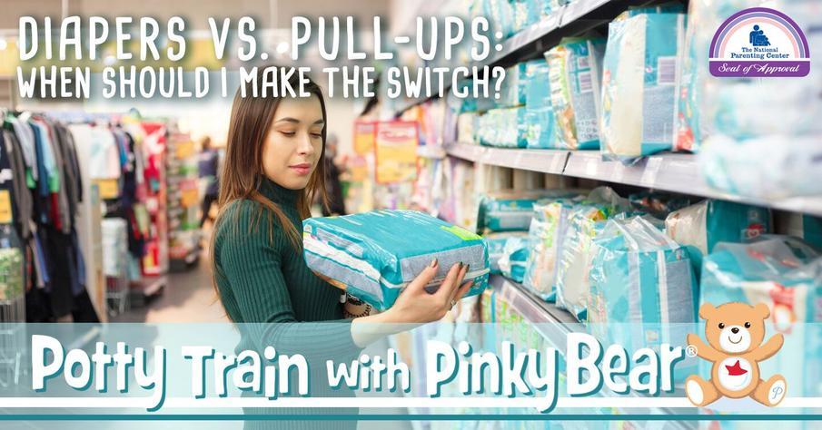 Diapers vs. Pull-Ups